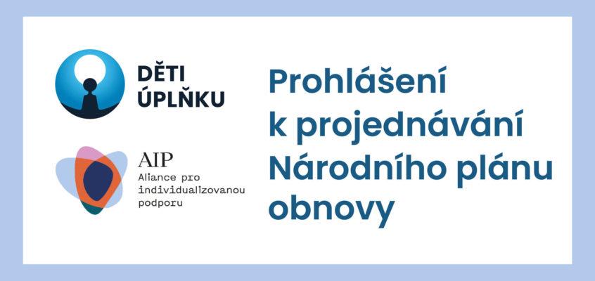 Prohlášení k projednávání Národního plánu obnovy